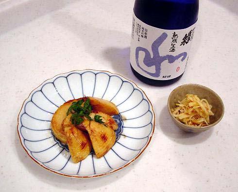 筍バター焼き(2009.3)