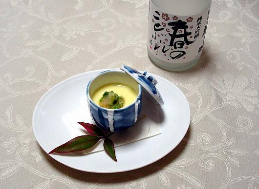 雲子(白子)蒸し(07.2月号)レシピ(y秀撰)