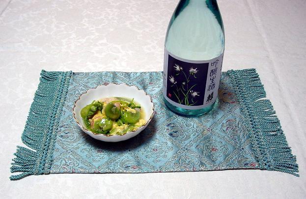 (2008,3,吟醸生酒そら豆と海老の卵とじ.jpg