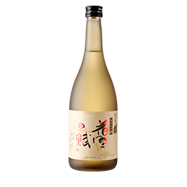 This sake is only sold in autumn.